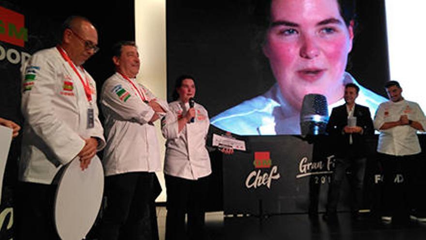 Una estudiante de Santa Pola conquista el paladar del mejor chef del mundo