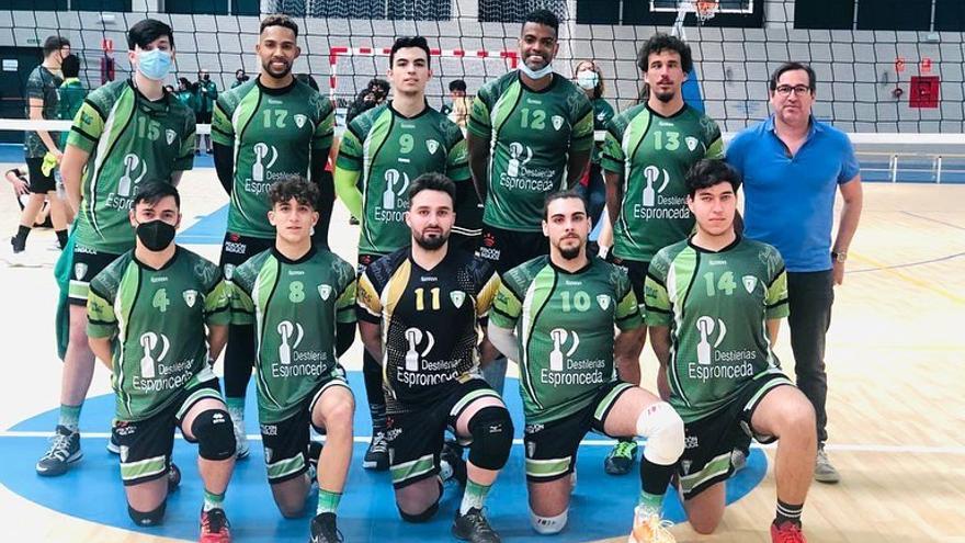 El Club Voleibol Almendralejo asciende a Superliga Masculina 2