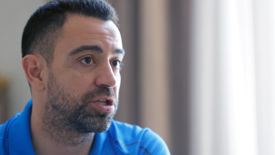 """Xavi: """"No era el momento de entrenar al Barça"""""""