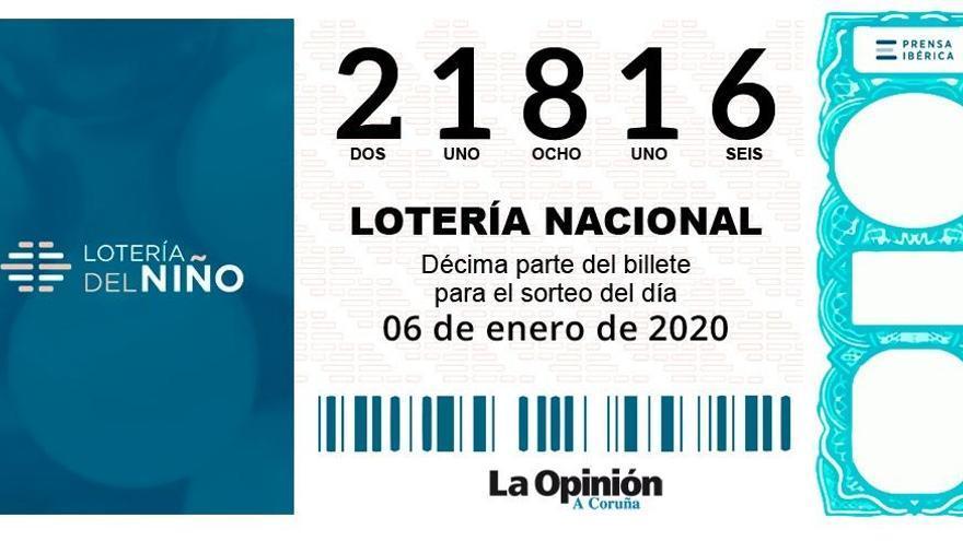 El segundo premio de la Lotería del Niño reparte 150.000 euros en Nigrán