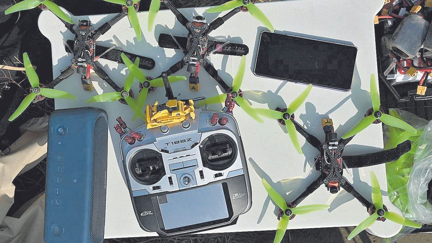 Los drones, aliados de los delincuentes
