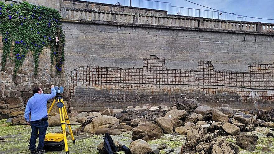 El gobierno inicia la auscultación del muro de Masandía para detectar deficiencias