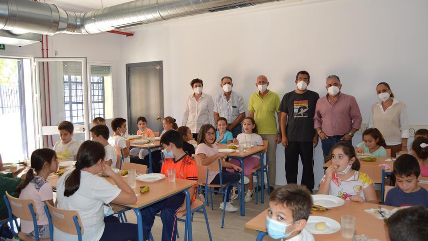 La aldea de El Villar de Fuente Palmera abre su primer comedor escolar