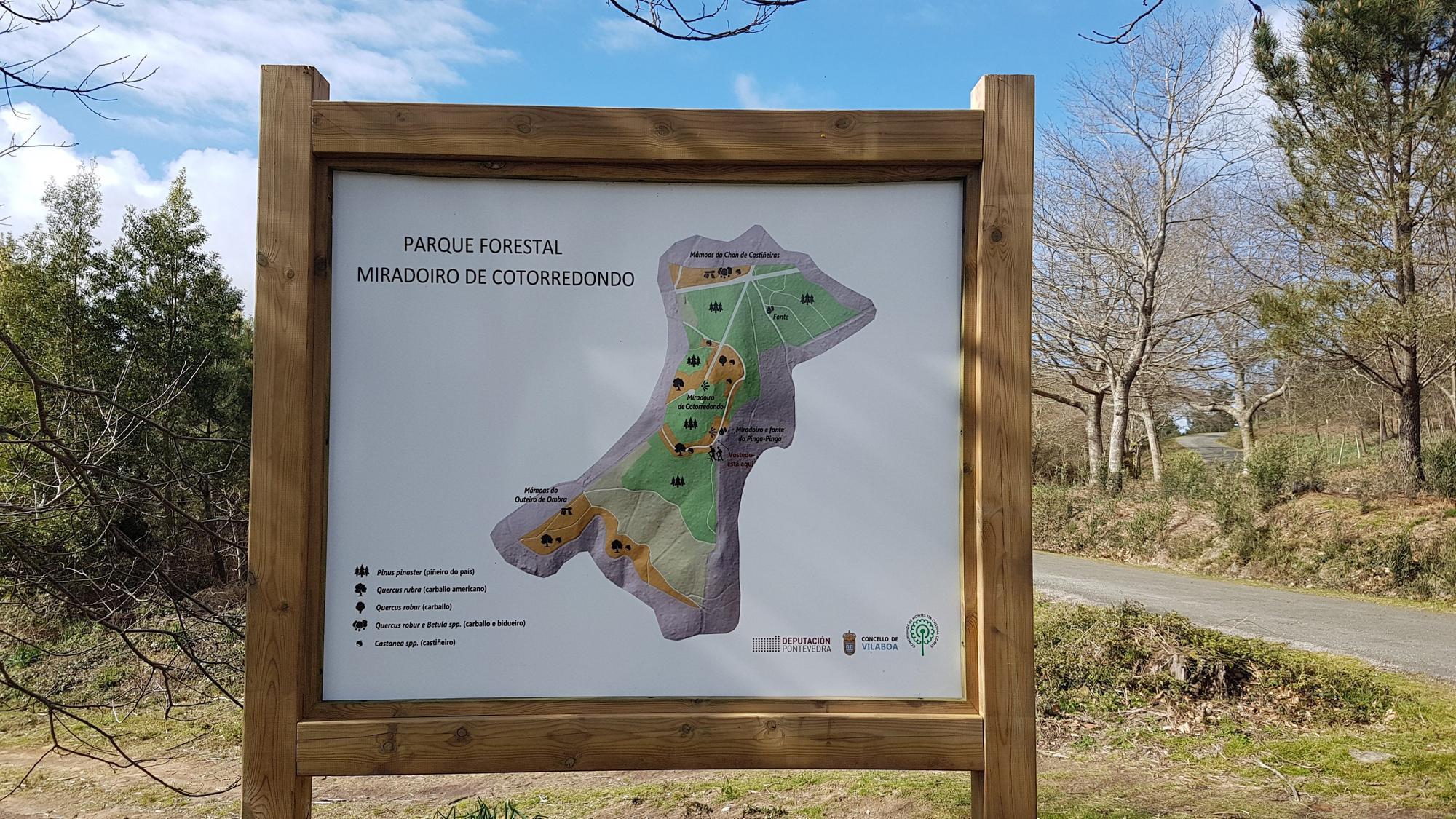 Lago Castiñeiras y Mirador de Cotorredondo