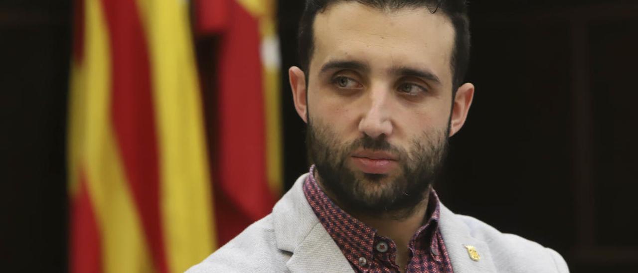 El alcalde de Sagunt, Darío Moreno