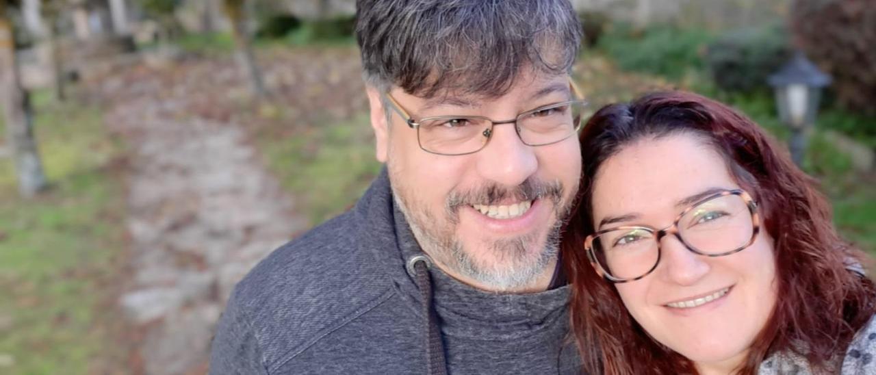 Raúl Casariego y Paula Balado