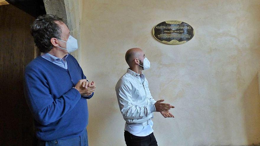 Cibuyo recuerda a su vecino más ilustre, el naturalista Agustín Barreiro