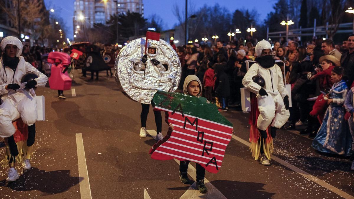 Desfile del pasado Carnaval en Zamora