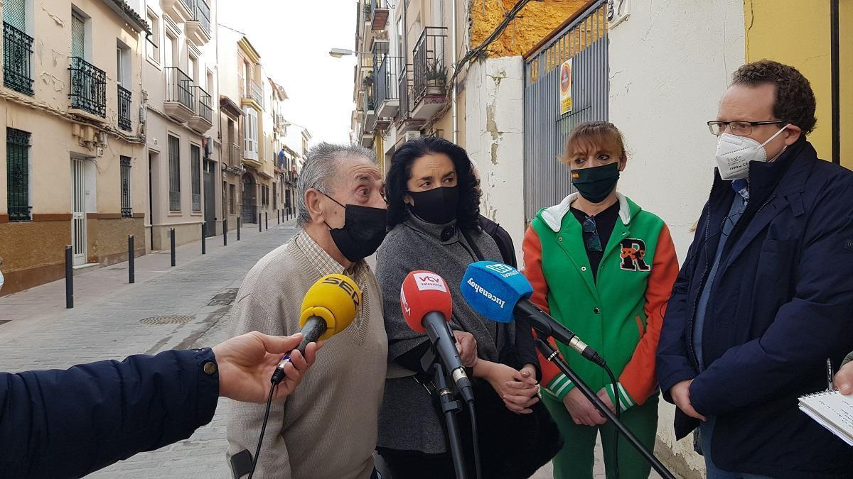 El Ayuntamiento de Lucena estudia la declaración de ruina para varias casas de okupas
