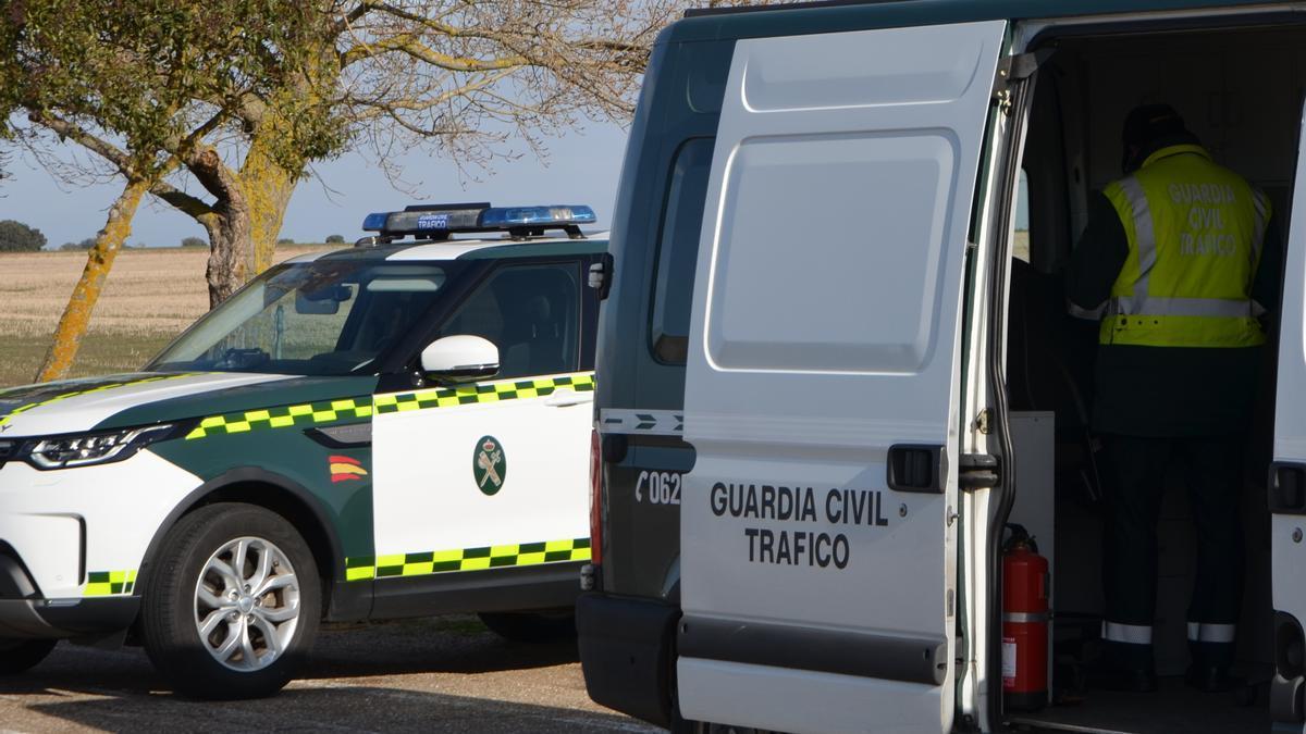 Componentes del Subsector de Tráfico de la Guardia Civil.