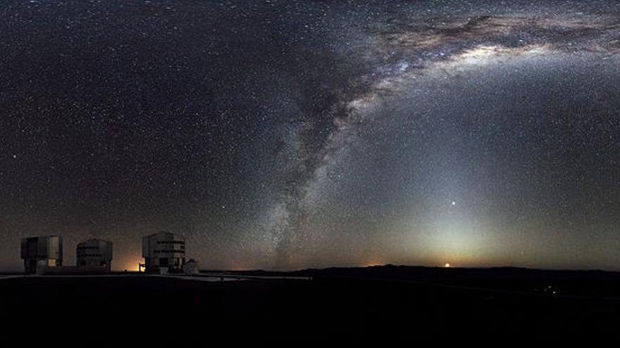 El Instituto de Astrofísica de Canarias descubre un cúmulo masivo de estrellas en la constelación del Escudo