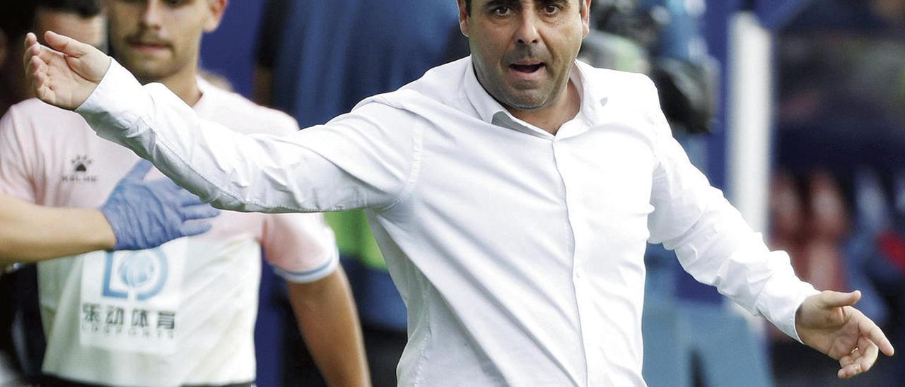 David Gallego, próximo entrenador del Sporting, durante su etapa en el Espanyol.