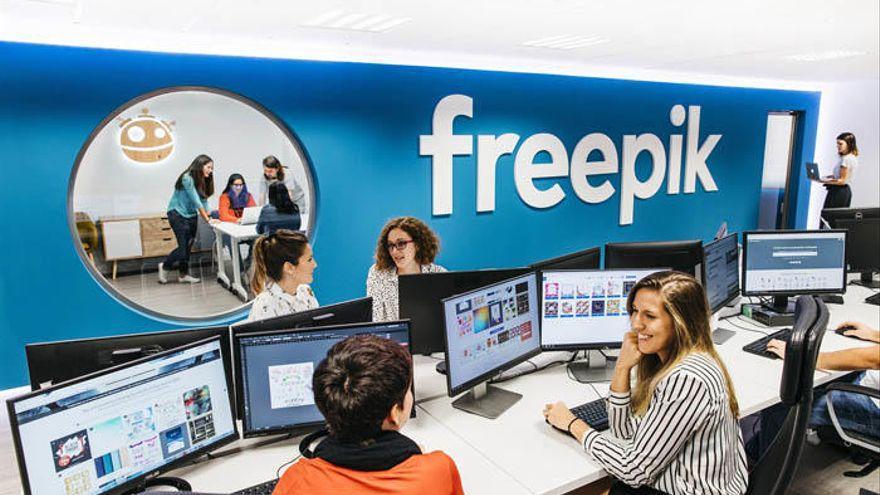 Freepik supera los 300 empleados en 2020 e incorporará a otros 100 este año