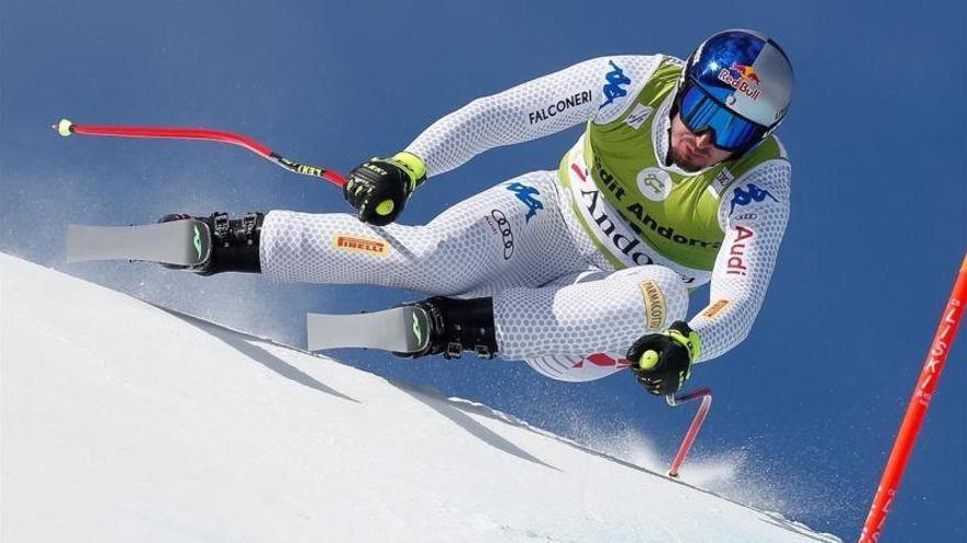 Andorra corona a Dominik Paris y Beat Feuz en descenso