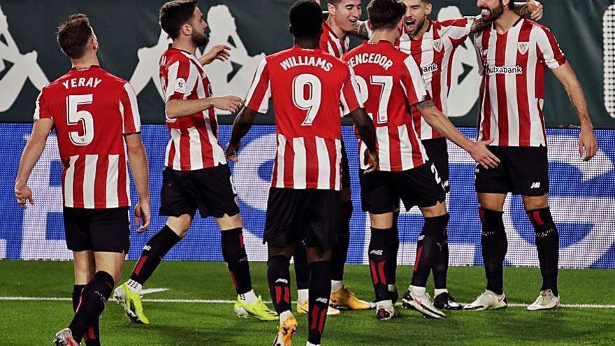 El Athletic se mete en semifinales tras ganar al Betis en los penaltis