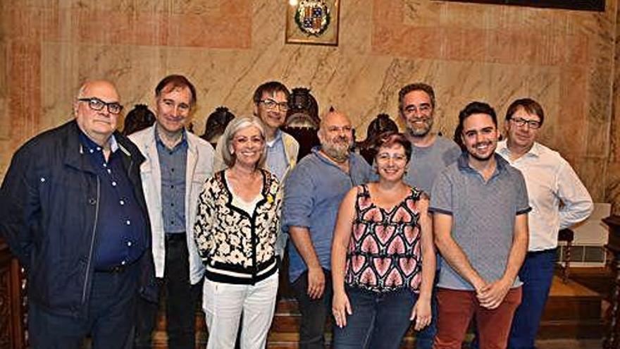 Dotze dels disset regidors de l'Ajuntament de Berga diuen adeu