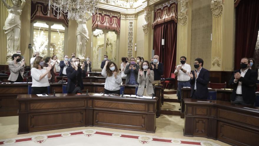 Armengol saca adelante sus presupuestos con comodidad y la abstención de Ciudadanos