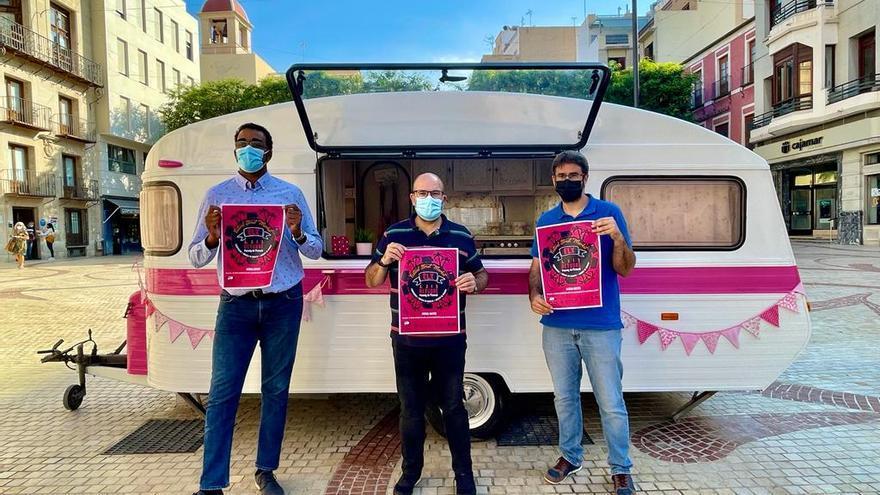 Caravanas de comida y música en directo este fin de semana en las calles de Elche