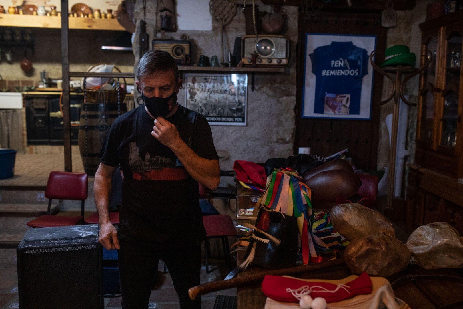 Galería| El Zangarrón de Sanzoles desafía al COVID