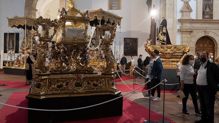 La muestra cofrade de Antequera In Aeternvm registra más de 30.000 visitas