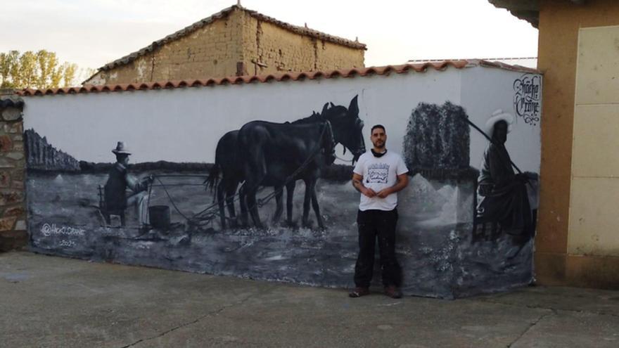 Benavente: Murales que traen vida