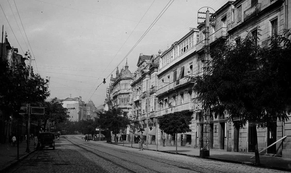Rúa Policarpo Sanz 1920 -1936