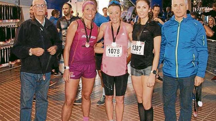 Àngels Llobera queda segunda  en Lanzarote