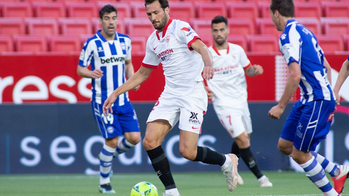 El Papu da la victoria al Sevilla ante el Alavés.
