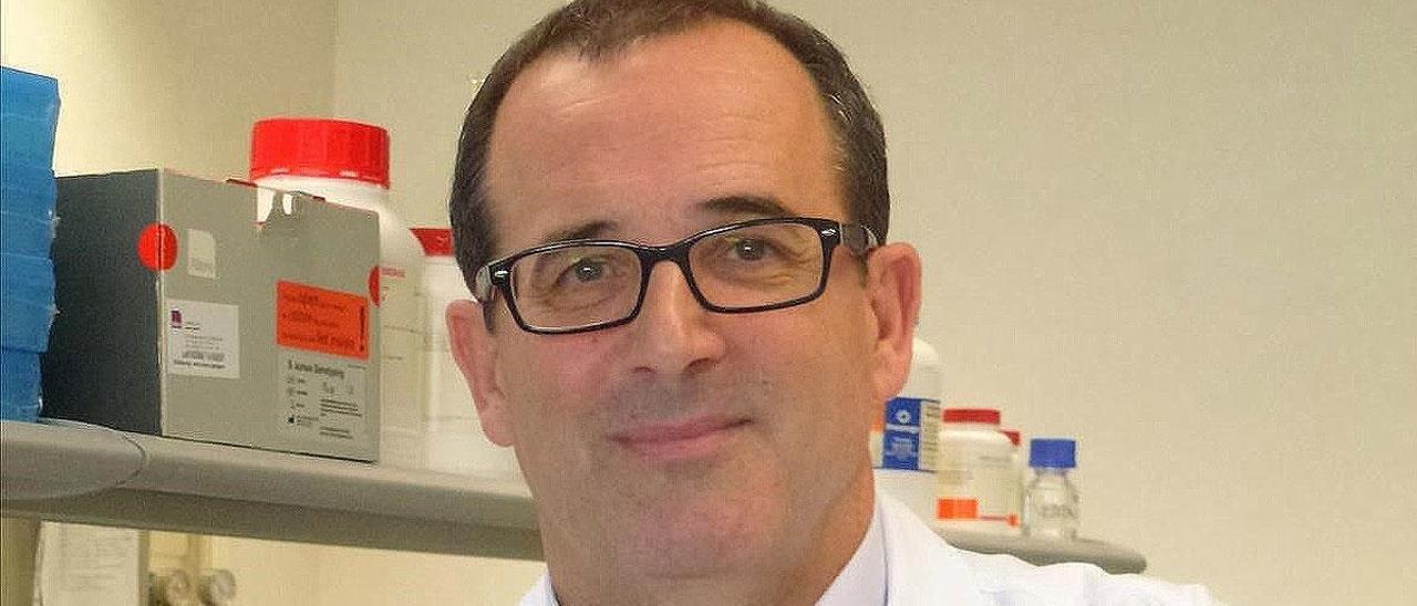 El virólogo Rafael Delgado.