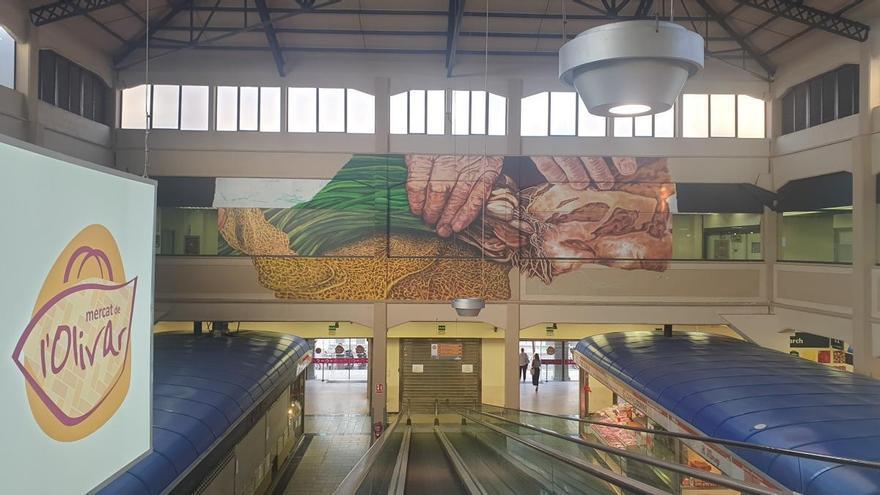 Markthalle in Palma bekommt riesiges Wandgemälde