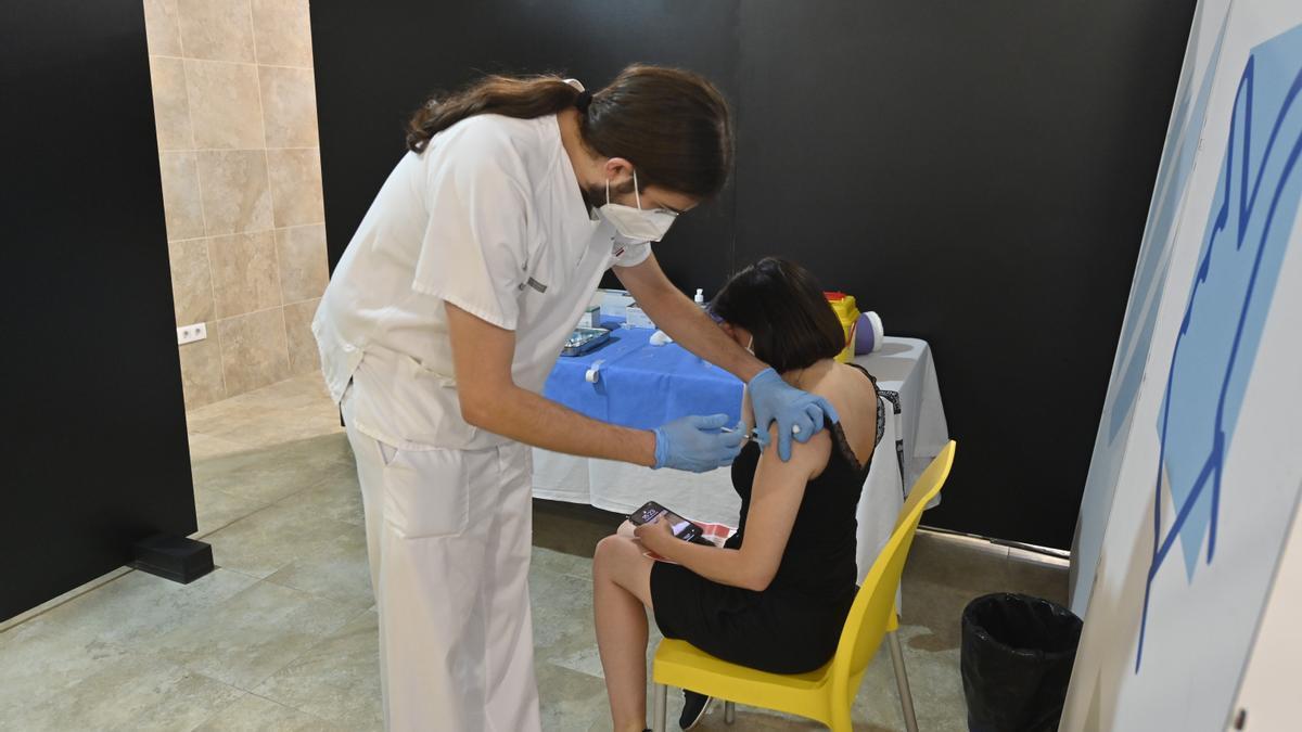 Imagen de la vacunación contra el coronavirus.
