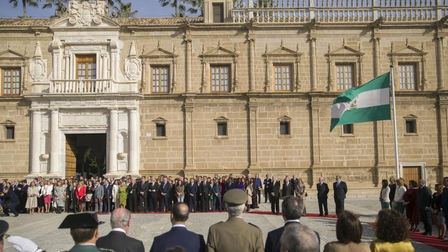 Andalucía celebra este domingo un 28 de febrero especial marcado por la pandemia y sus limitaciones