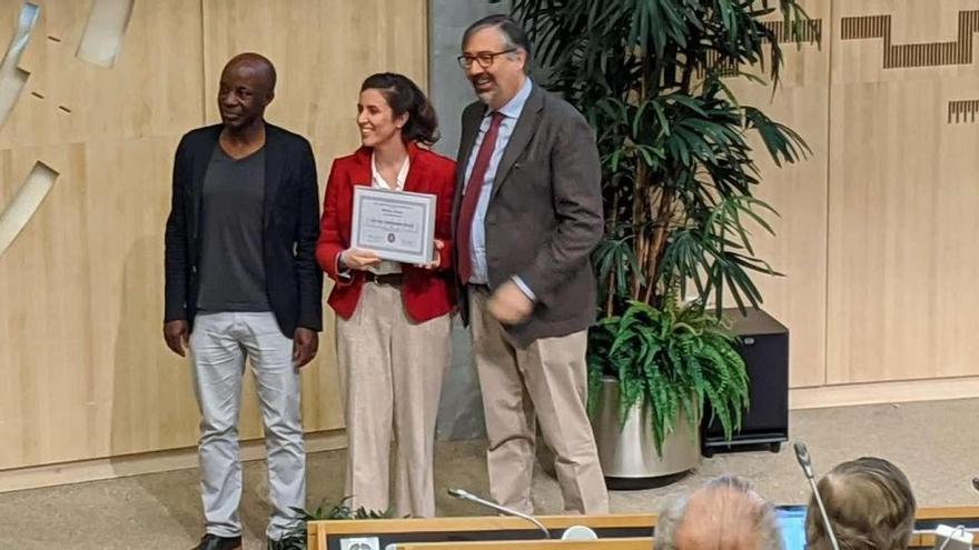 Premio en Ginebra para una científica asturiana por su aportación al CERN