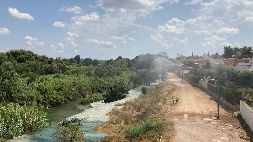 La segunda infraestructura contraincendios más grande del mundo inicia las primeras pruebas piloto en Riba-roja de Túria y Paterna