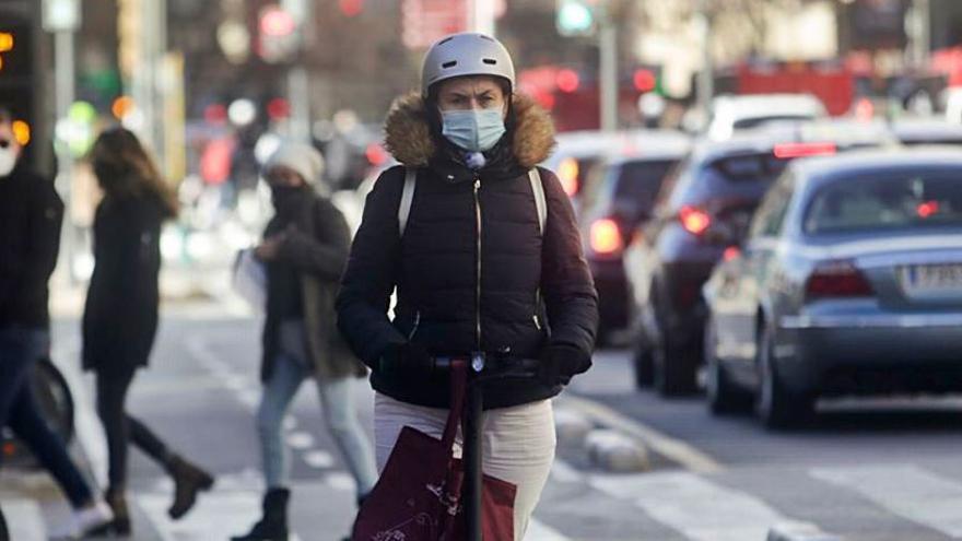 Los usuarios de patinete  eléctrico se disparan un 125 % durante la pandemia