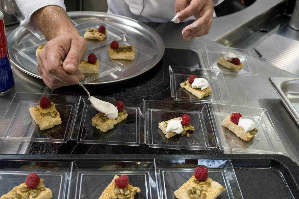 Las termas al servicio de la gastronomía. // B. Lorenzo