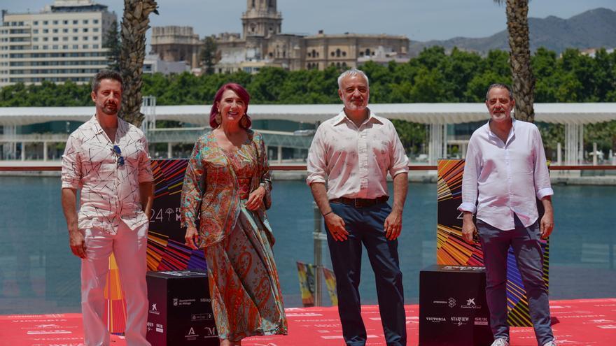 Presentación de 'Las mejores familias' en el Festival de Cine de Málaga