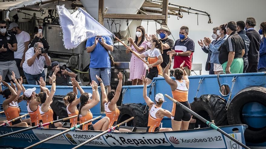 Chapela deja sin alirón de la Liga Galega Femenina a Cabo en Ribeira