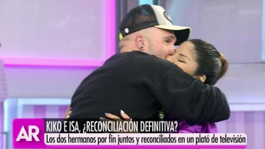 Kiko Rivera e Isa Pantoja entierran el hacha de guerra