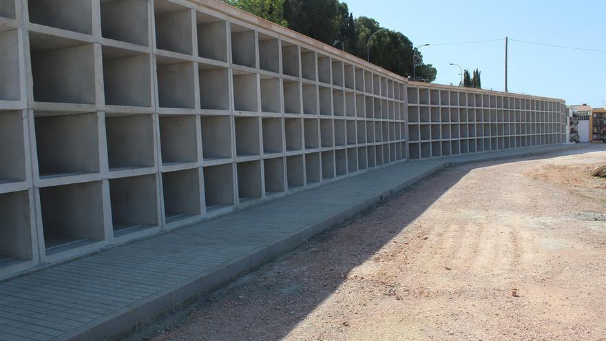 Novelda amplía la capacidad del cementerio con 88 nichos