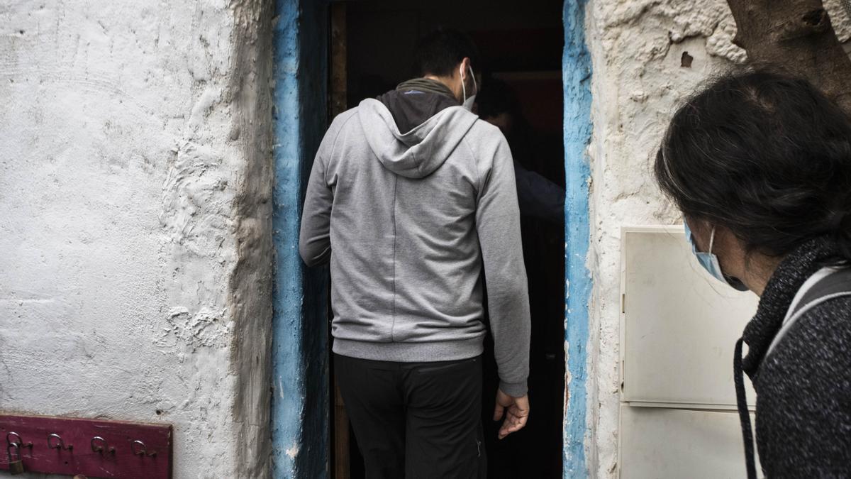 Desalojo y cargas policiales en un casal okupa en Benimaclet