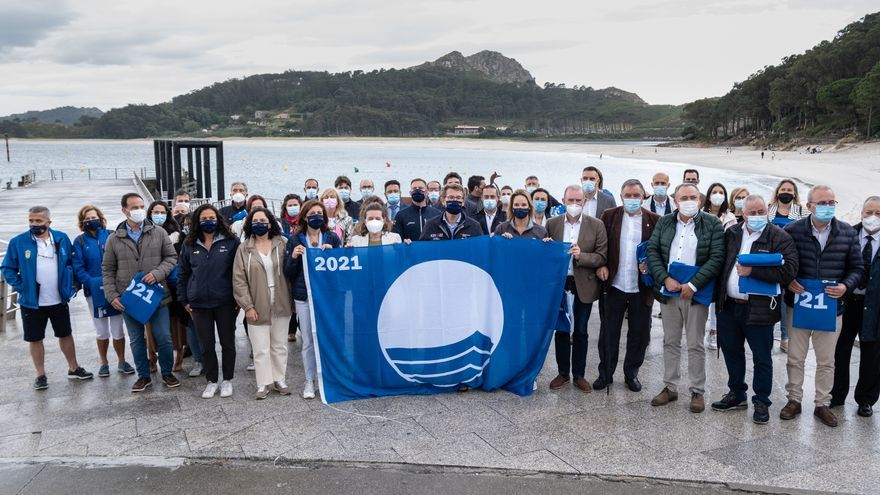 Cíes, el gran símbolo de la Galicia azul