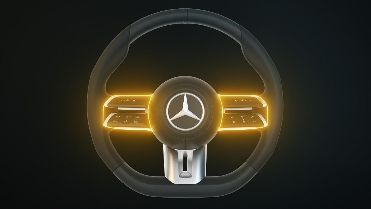 Así es la nueva generación de volantes de Mercedes-Benz