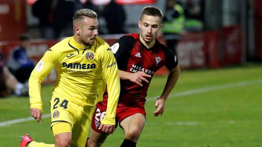 El Mirandés prolonga su sueño y vuelve a unas semifinales de Copa