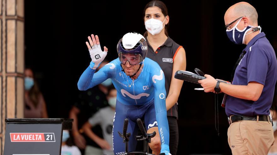 Alejandro Valverde reaparecerá 37 días después de ser operado