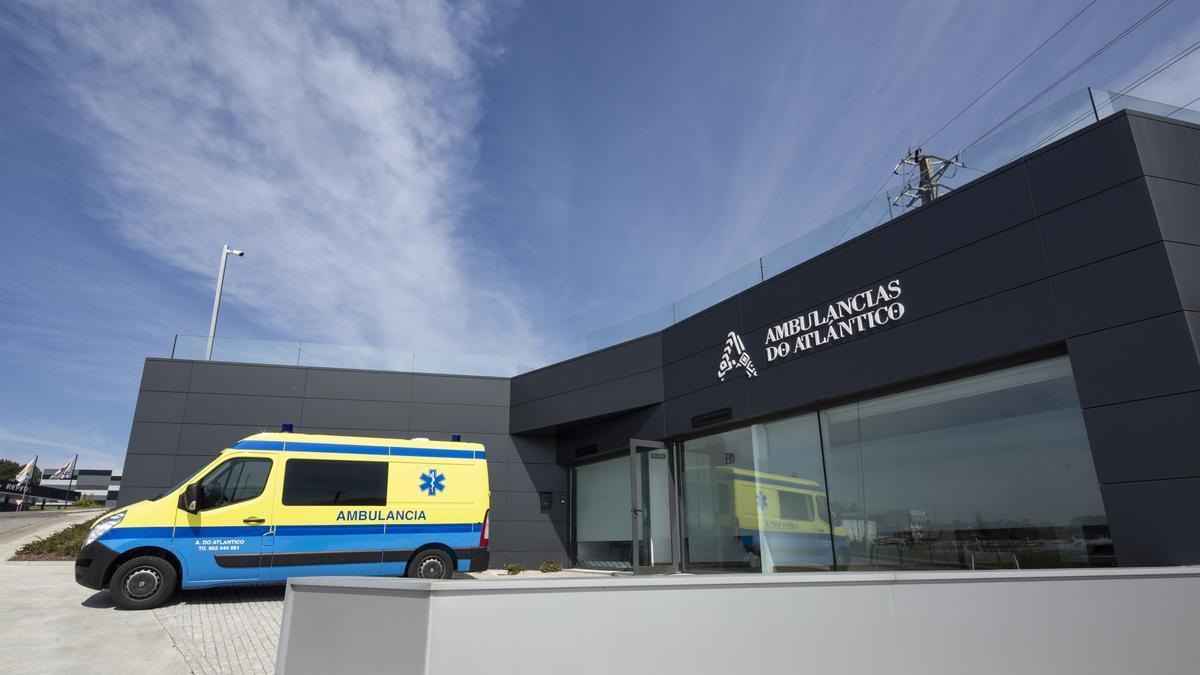 Sede de Ambulancias Do Atlántico. // FdV