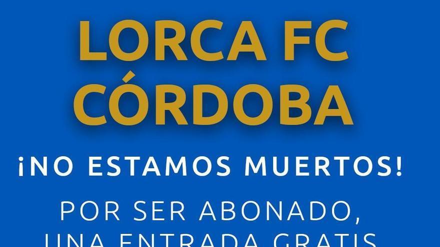 'No estamos muertos', la nueva campaña del Lorca FC