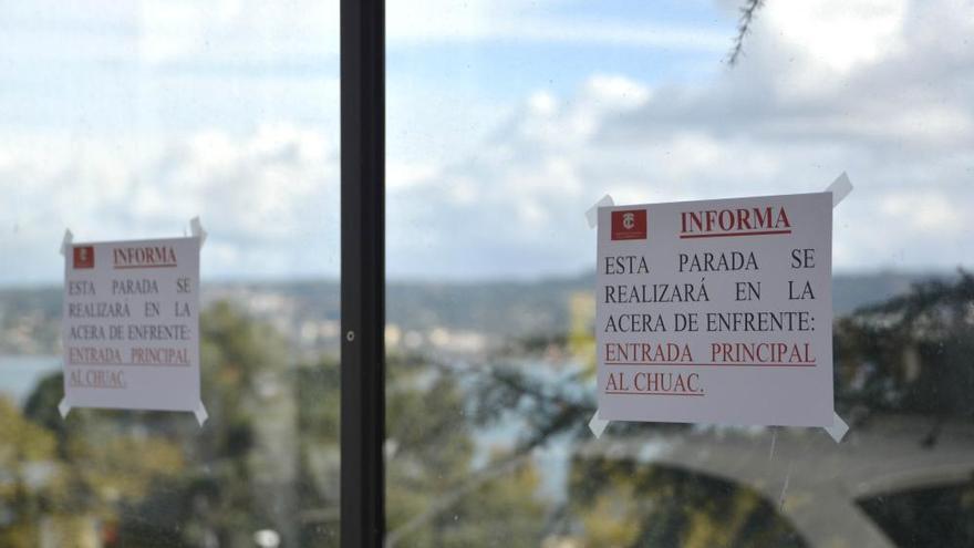 Cambios en las líneas de buses a los hospitales de A Coruña