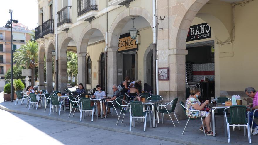 Se aprueba la nueva normativa de terrazas en Villanueva de la Serena