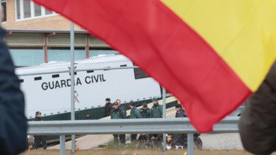 Els presos independentistes, en cel·les individuals i poden rebre visites de familiars